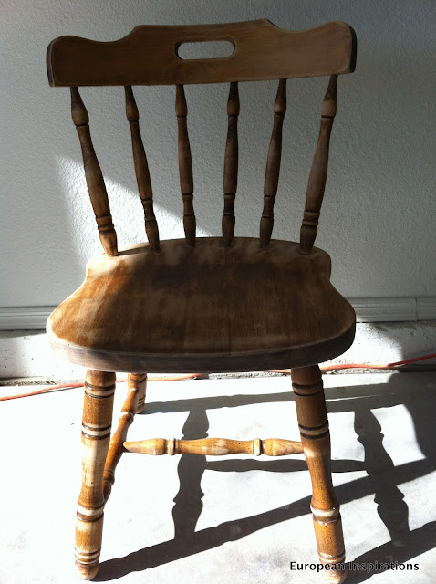 Pedro, the ombre chair
