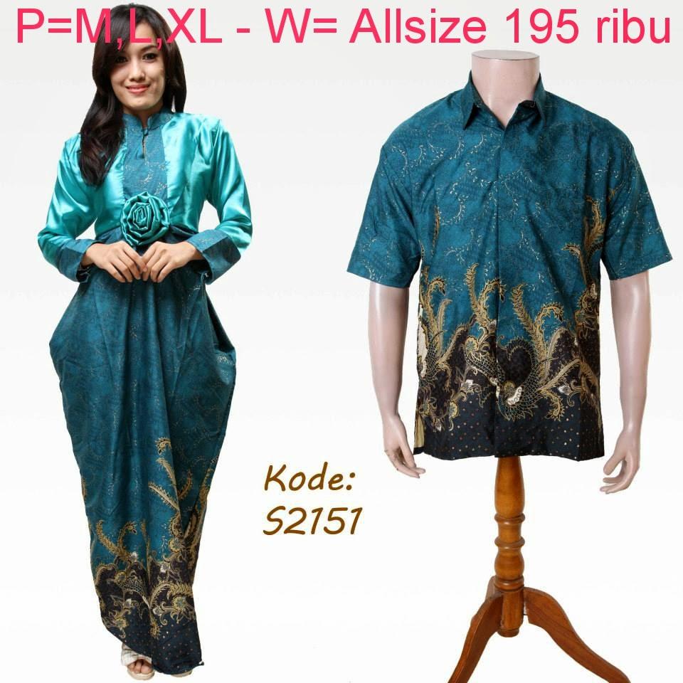 Baju Pasangan Batik Model Keren   Model Baju Batik