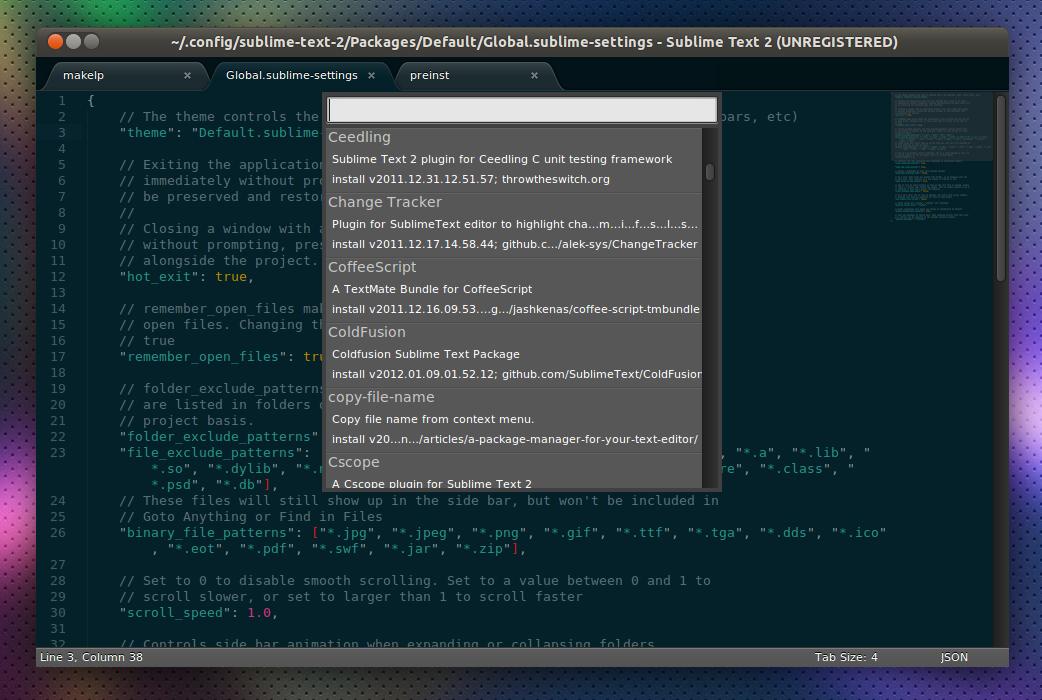 Sublime Text Terminal Plugin