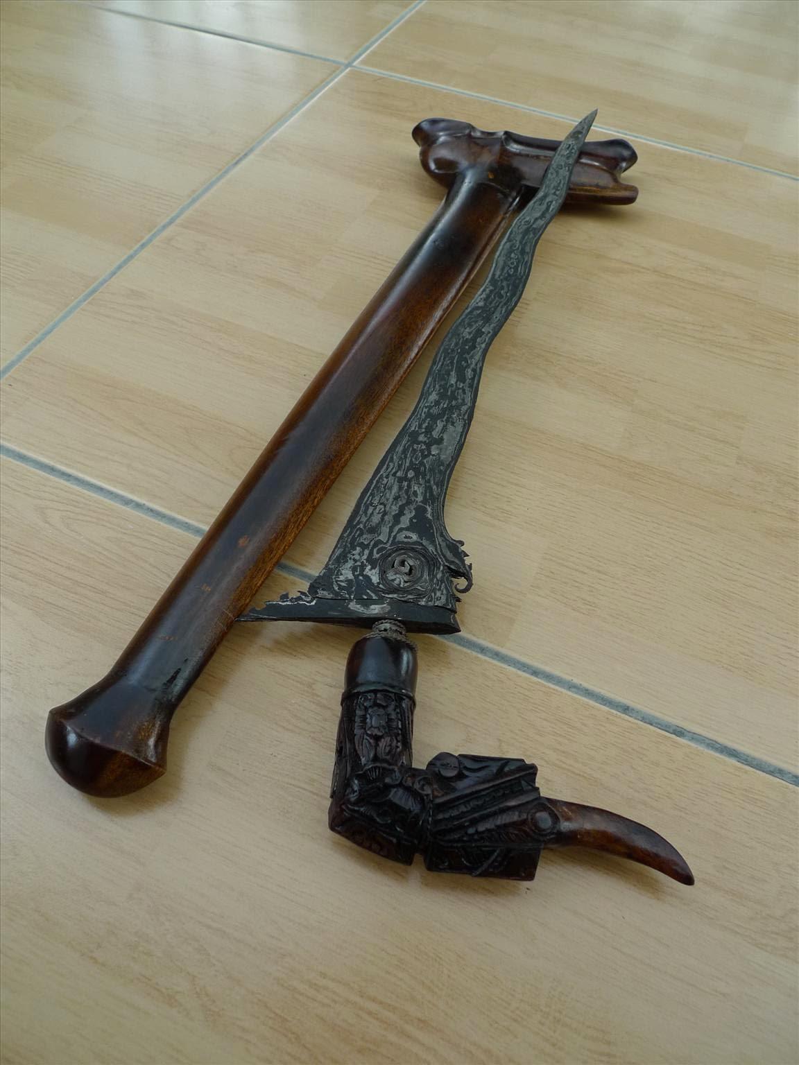 senjata tradisional badik provinsi gorontalo senjata tradisional