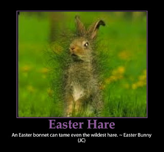 easter funny rabbit hare quote