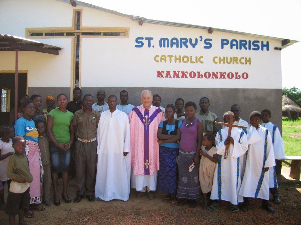 Javi en St. Mary´s Parish