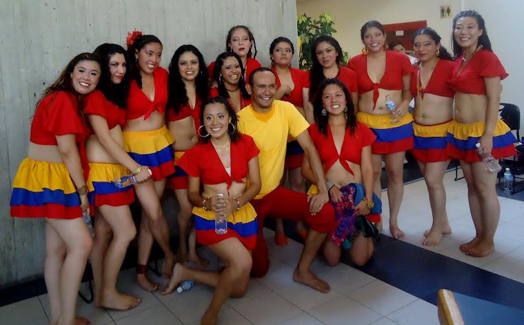 grupo de danza afro de la FCPyS