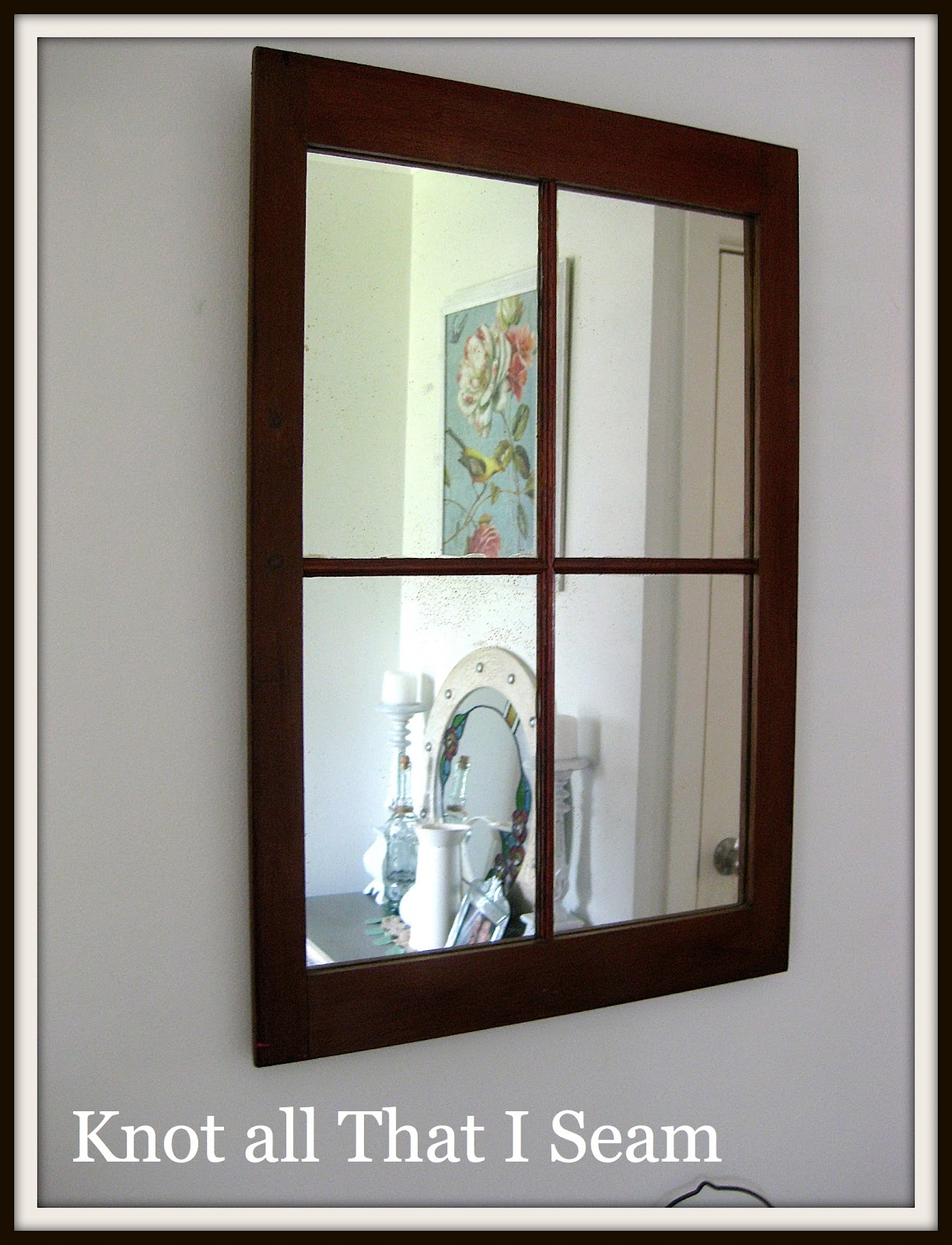 Restyle relove thrifty find window mirror for Window mirrors for sale
