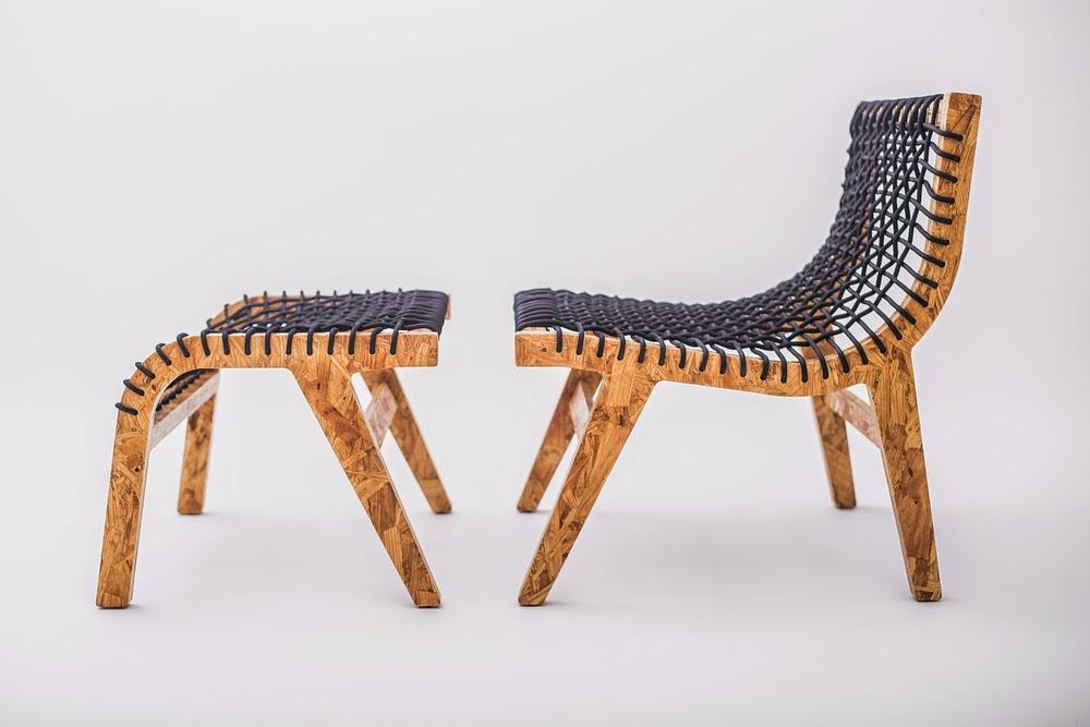 Ma maison au naturel ecoconception des meubles design for Interieur osb