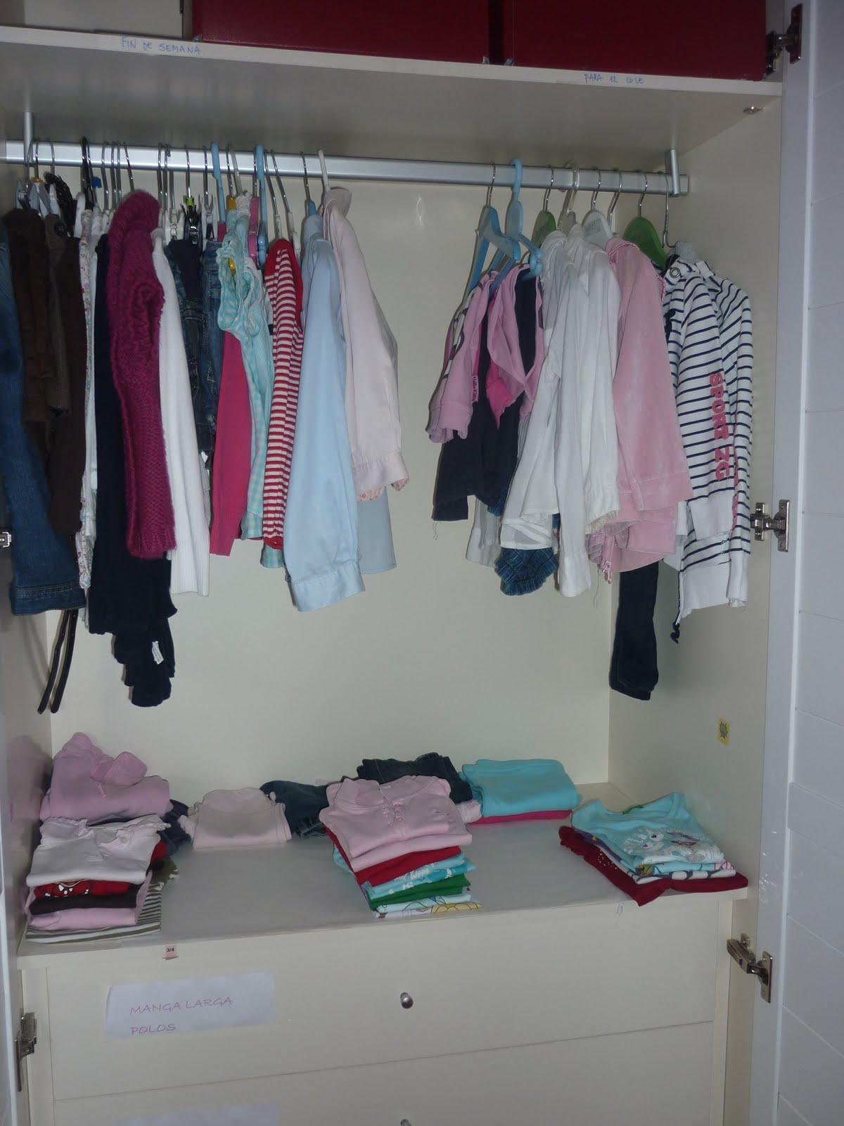 Mam es un pirata malo organizacion de armarios infantiles - Organizacion armarios ...