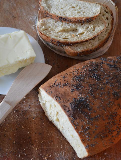 chleb pszenny pełnoziarnisty, przepis na chleb
