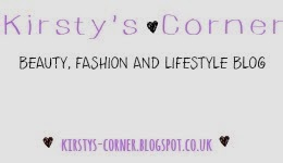 Blog button for Kirsty's Corner