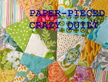 Paper-pieced Crazy Quilt Tutorial