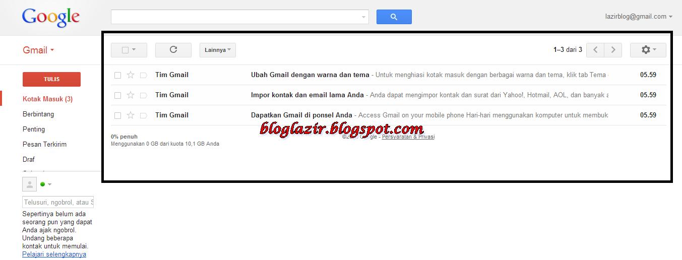 Selesai sudah Cara Cepat Membuat Akun Gmail Serta Panduan Gambar ...