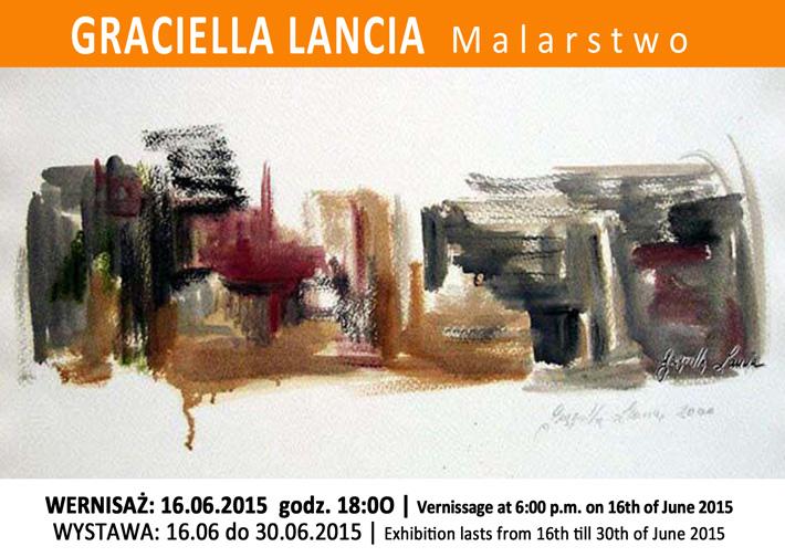 Zapraszamy na wernisaż malarstwa Grazielli Lanci