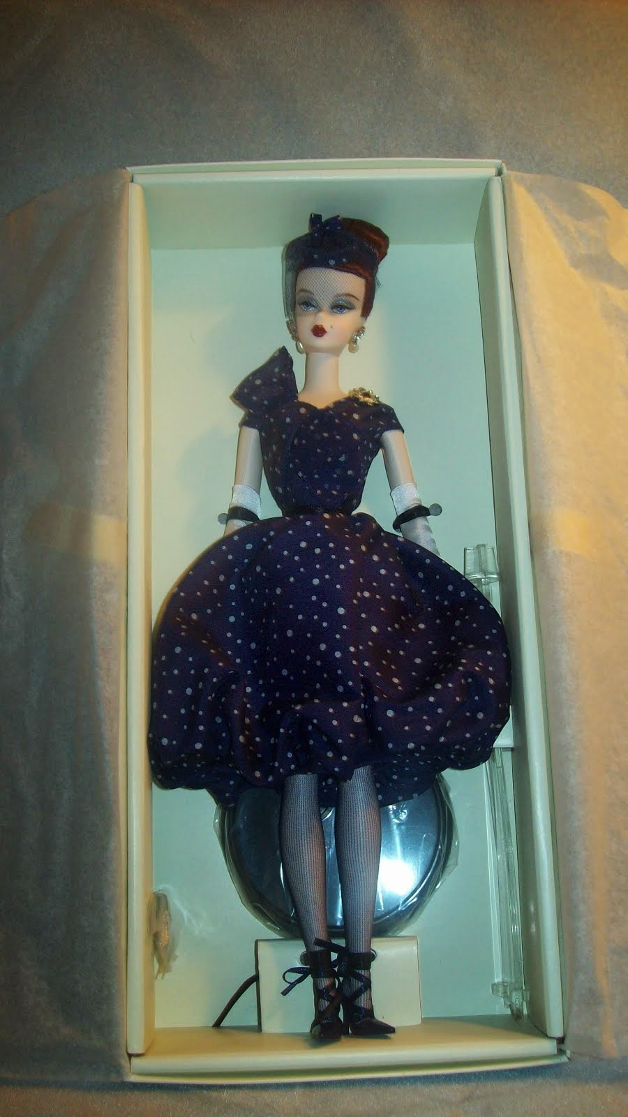 Parisienne Barbie 50th Anniversary $125 free S/H