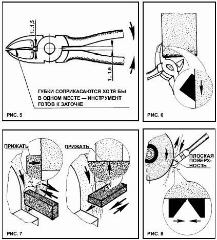 Как заточить кусачки