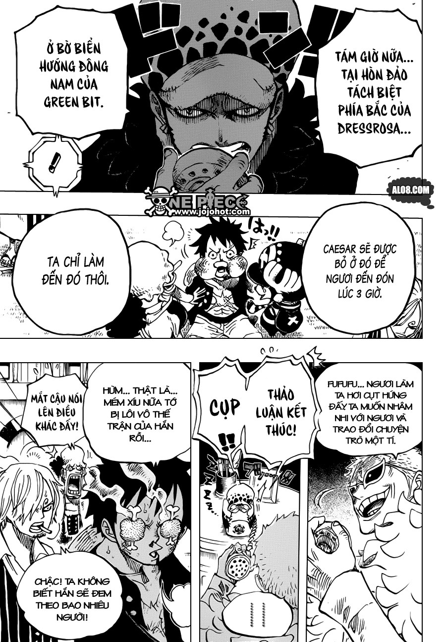 One Piece Chapter 700: Nước cờ 007