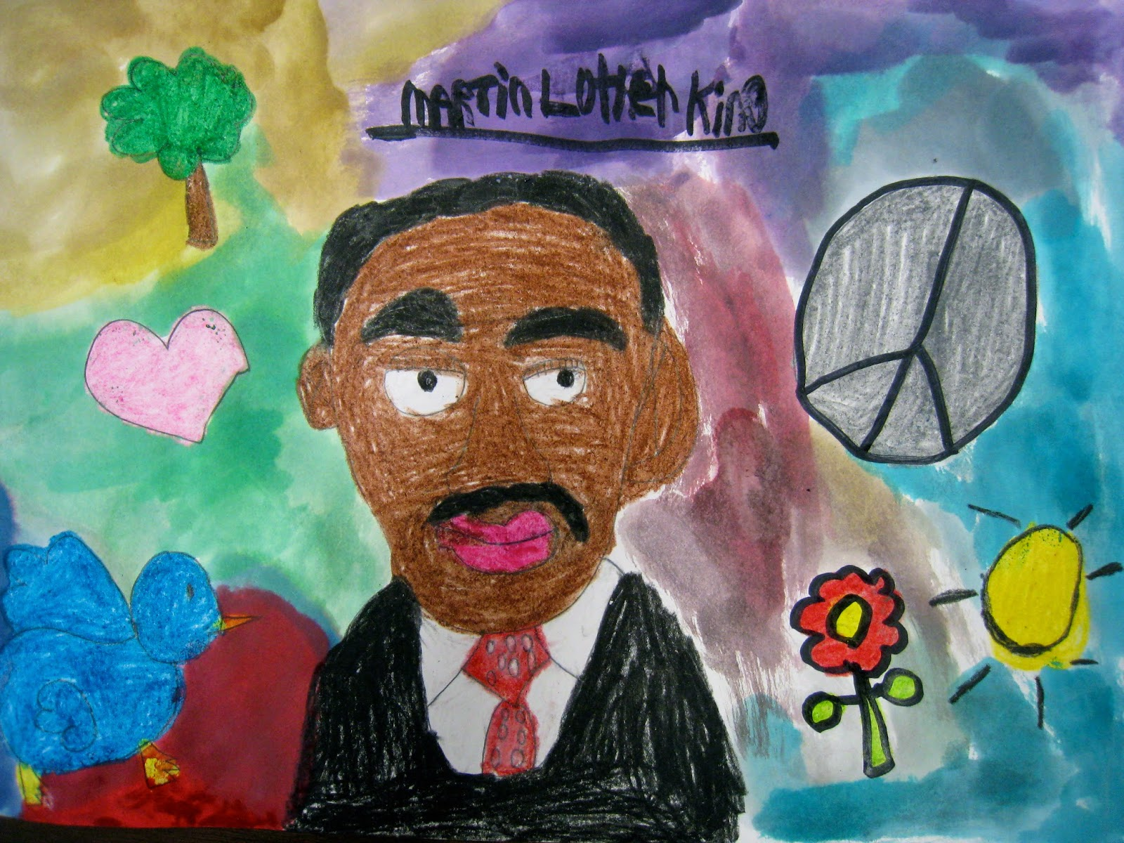 dr. martin luther king jr. fine arts & essay display