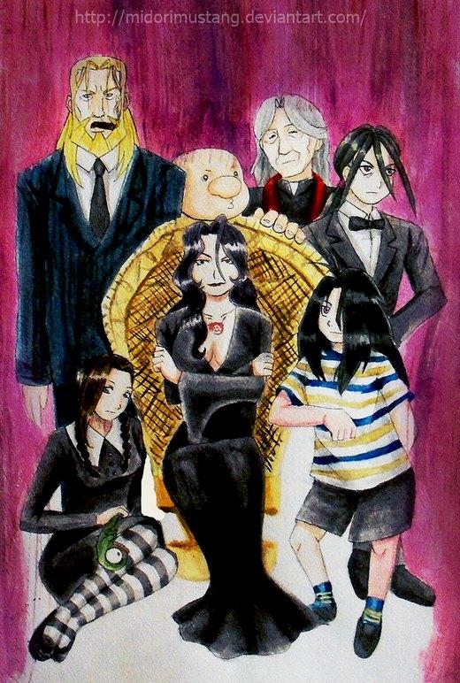 The Addams Family? +AT+ por Mari-Rose