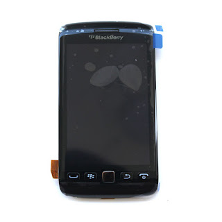 New Black For Blackberry Torch 9860 LCD Screen Digitizer Assembly+Frame Generic