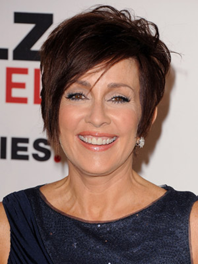 patricia heaton hairstyles : Brunette Hairstyles 01 Fresh Look Celebrity Hairstyles