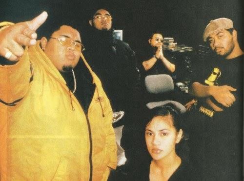 Urban Pacifika crew. Photo: Gary Brandon / Real Groove, 1999
