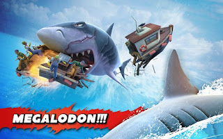 Hungry Shark Evolution New Shark Character Megalodon
