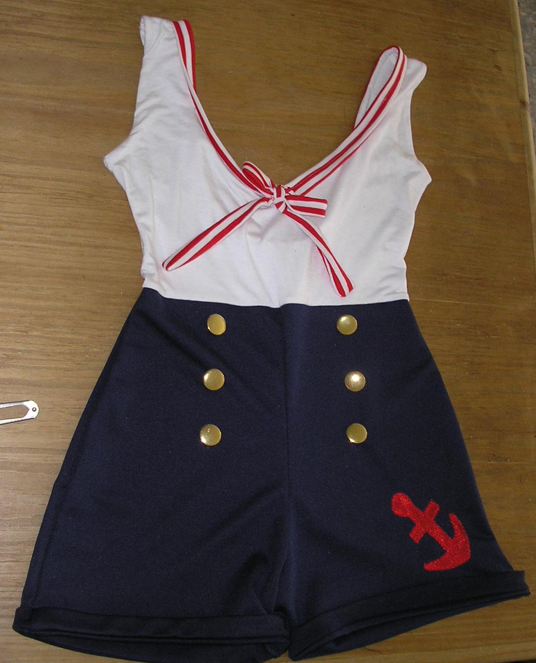 La piecita de costura disfraces de marineras para - Disfraz de marinero casero ...