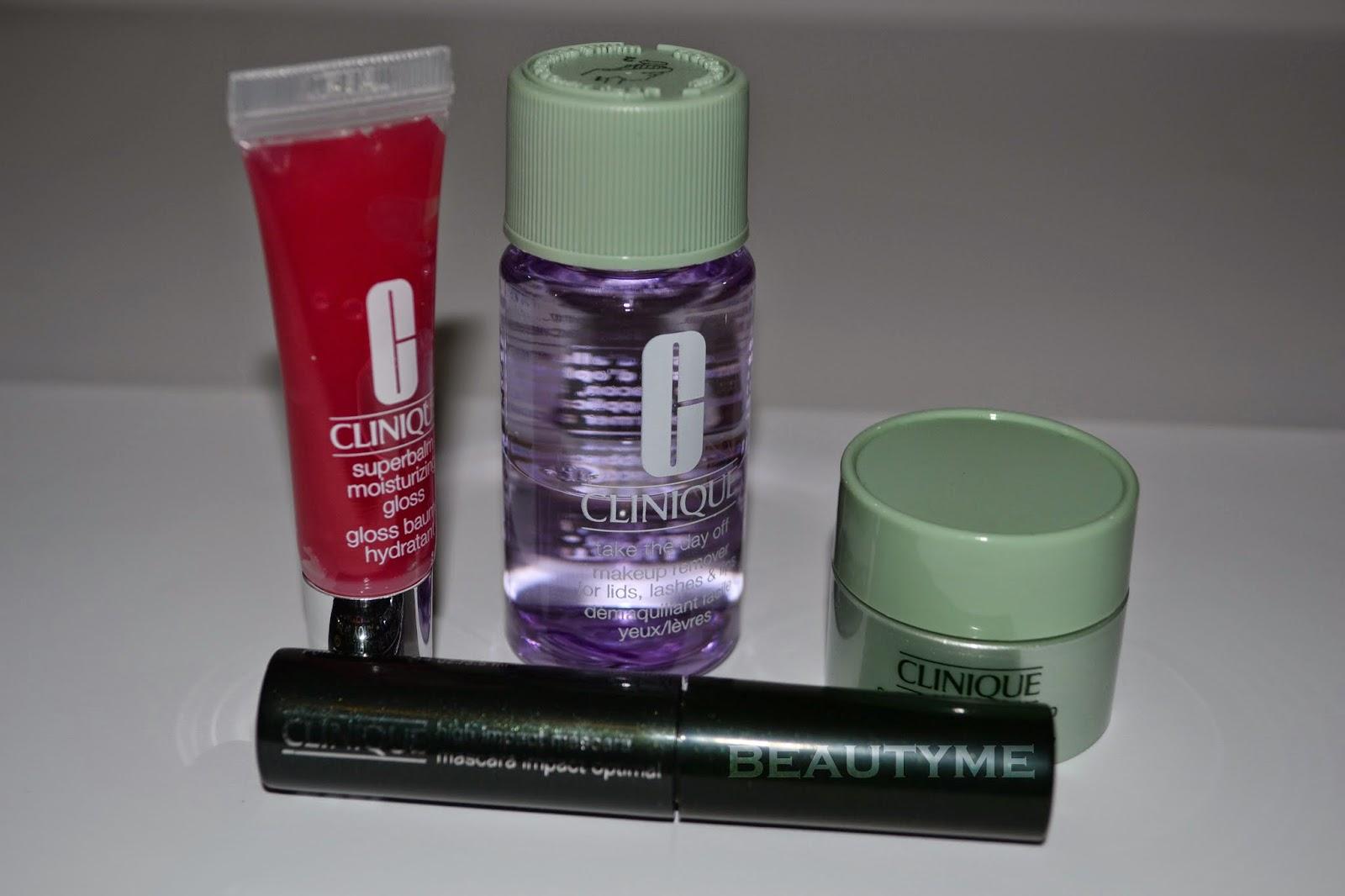 набор косметики для кожи clinique
