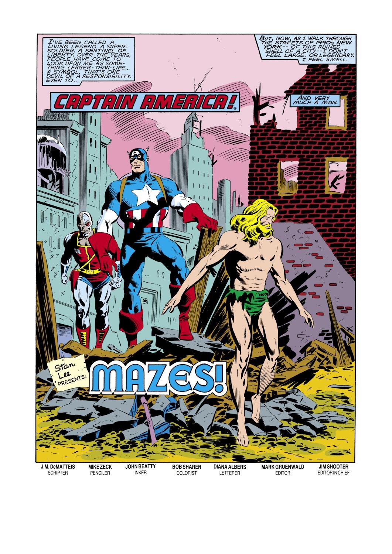 Captain America (1968) Issue #288 #204 - English 2