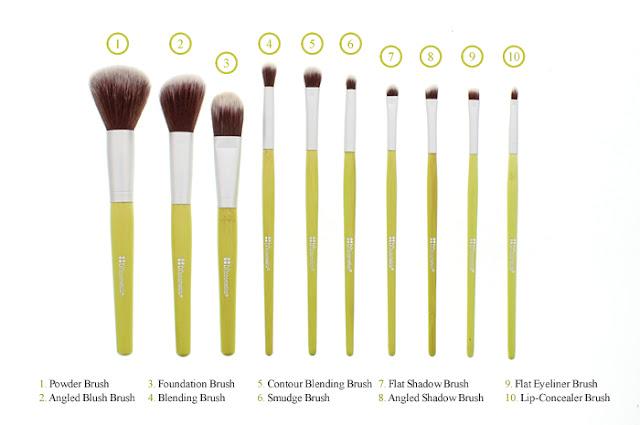 Real vs fake makeup brushes