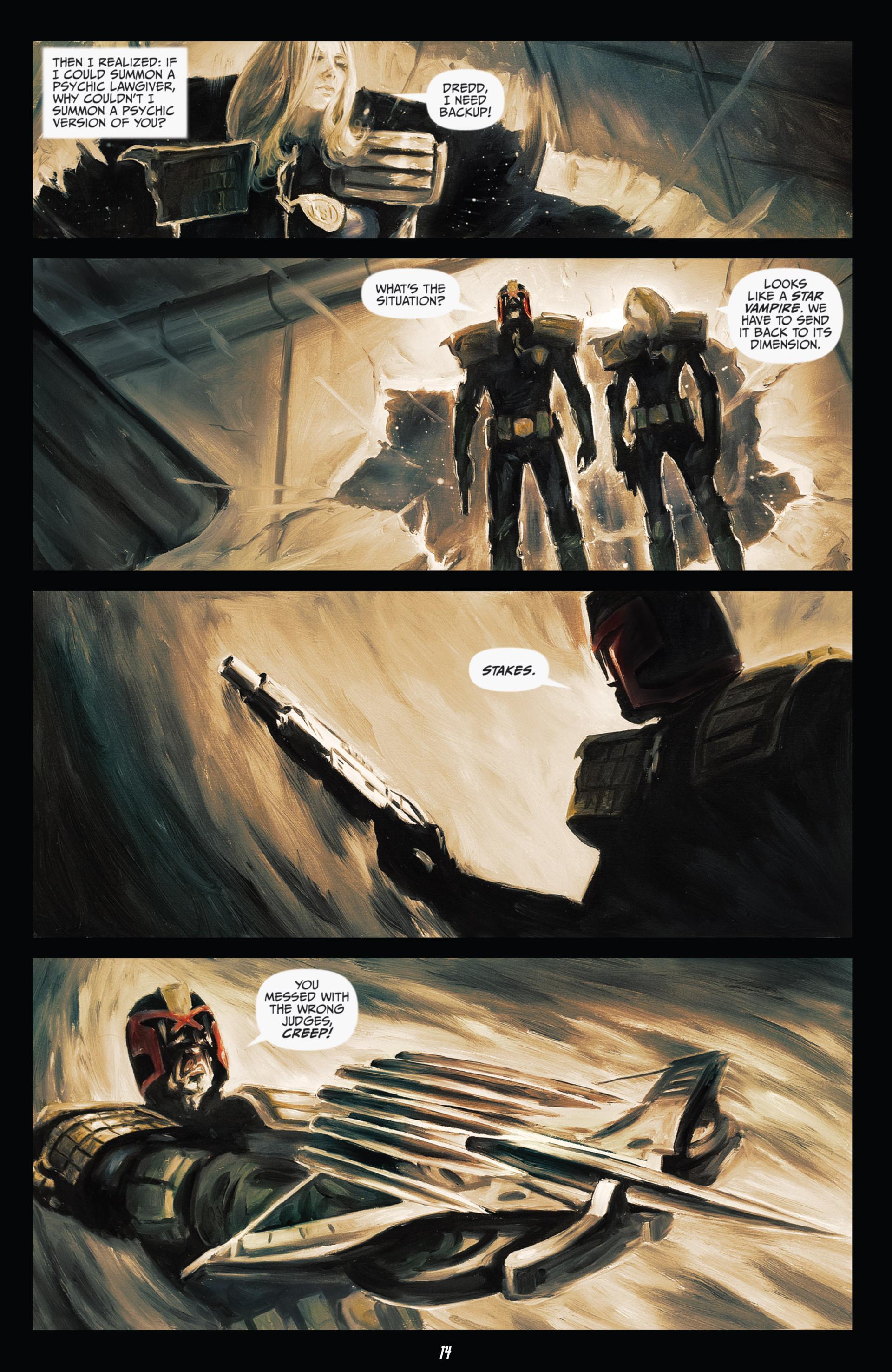 Read online Judge Dredd (2012) comic -  Issue #21 - 16