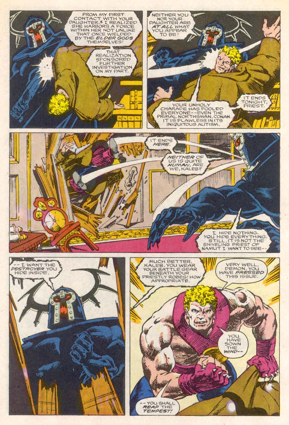 Conan the Barbarian (1970) Issue #193 #205 - English 22