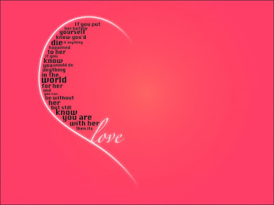 Sonríe llego el amor, postales para san valentin con lindos mensajes