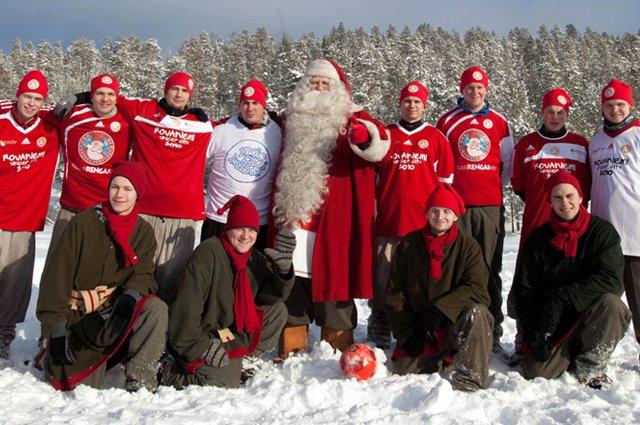 FC Santa Claus, el equipo de Papá Noel