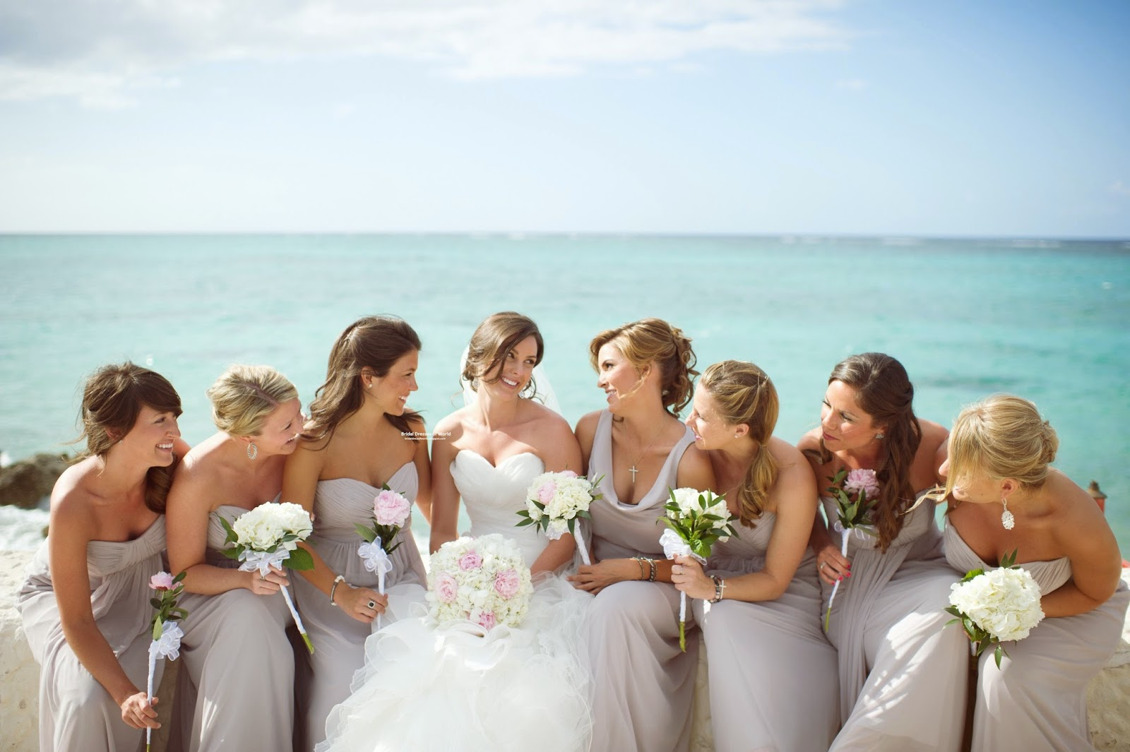 Bridal dresses of world june 2014 about 75 percent of wedding dresses on the market are strapless dresses or sleeveless in part because such dresses require less skill from the designers ombrellifo Images
