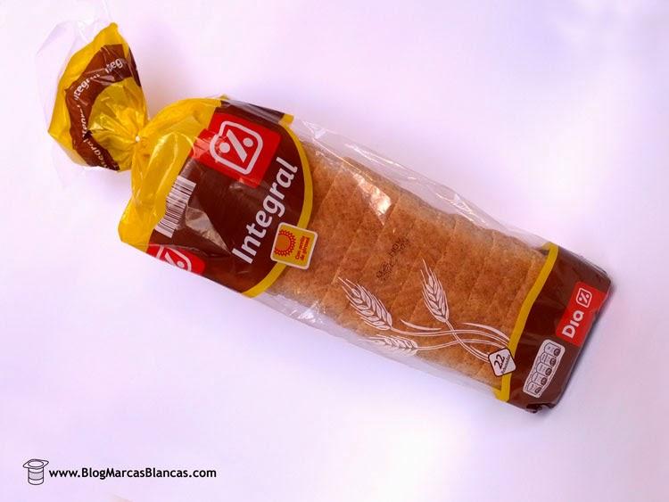 Pan de molde integral DIA.