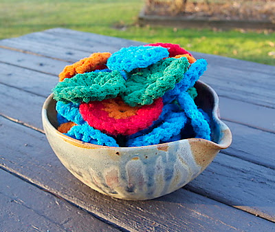 free crochet kitchen scrubbie pattern