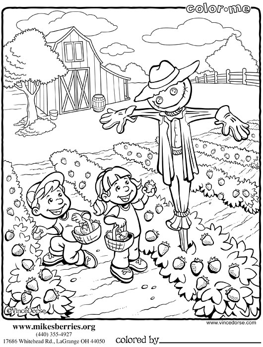 Vince Dorse Art Blog Color Me A Coloring Page For Mikes