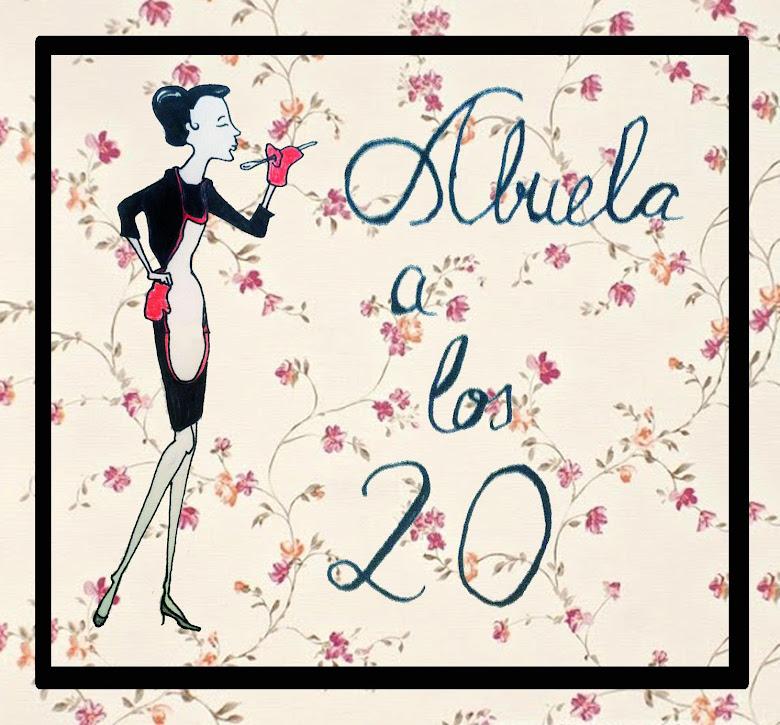 Abuela a los 20