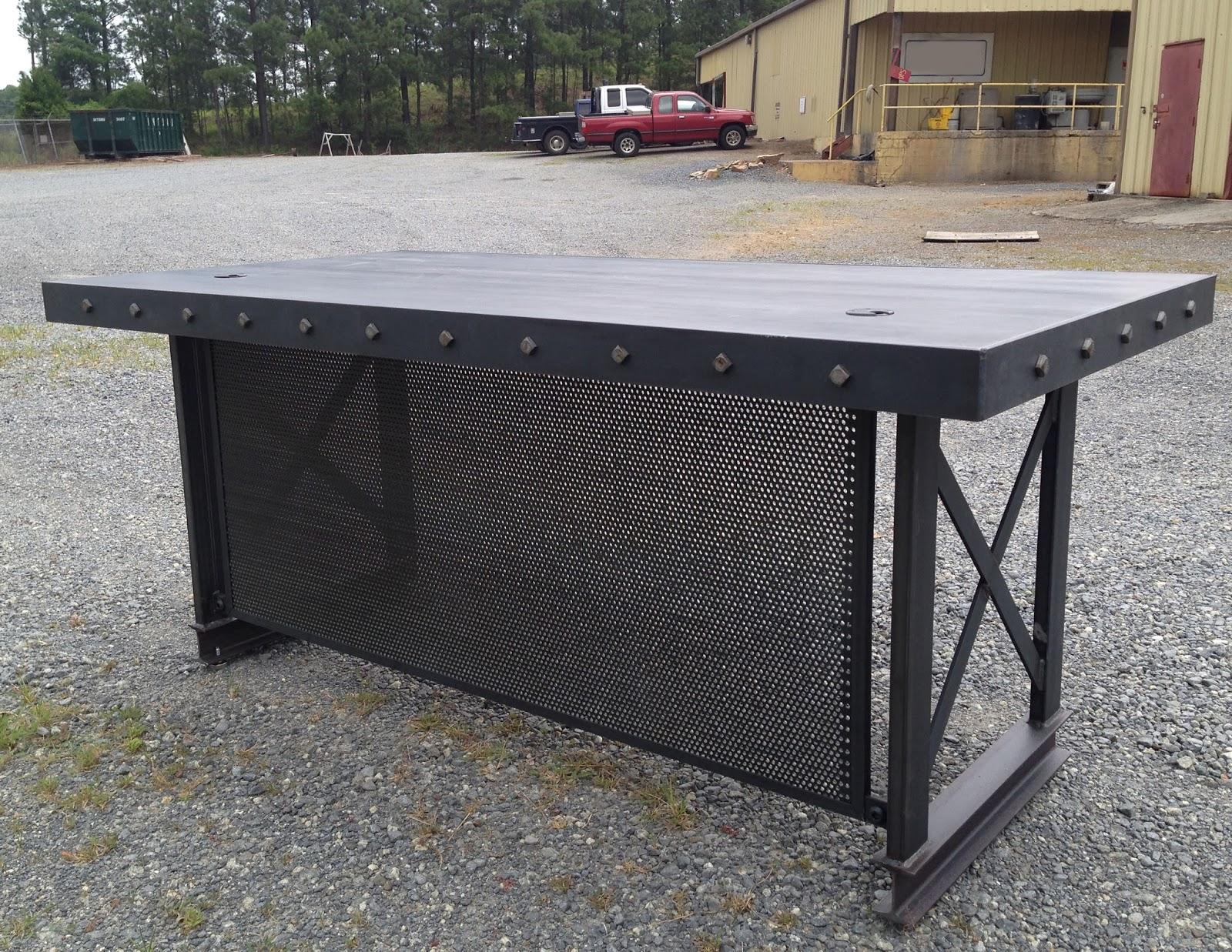 industrial office desk. Plain Industrial Modern Industrial Office Desk With U
