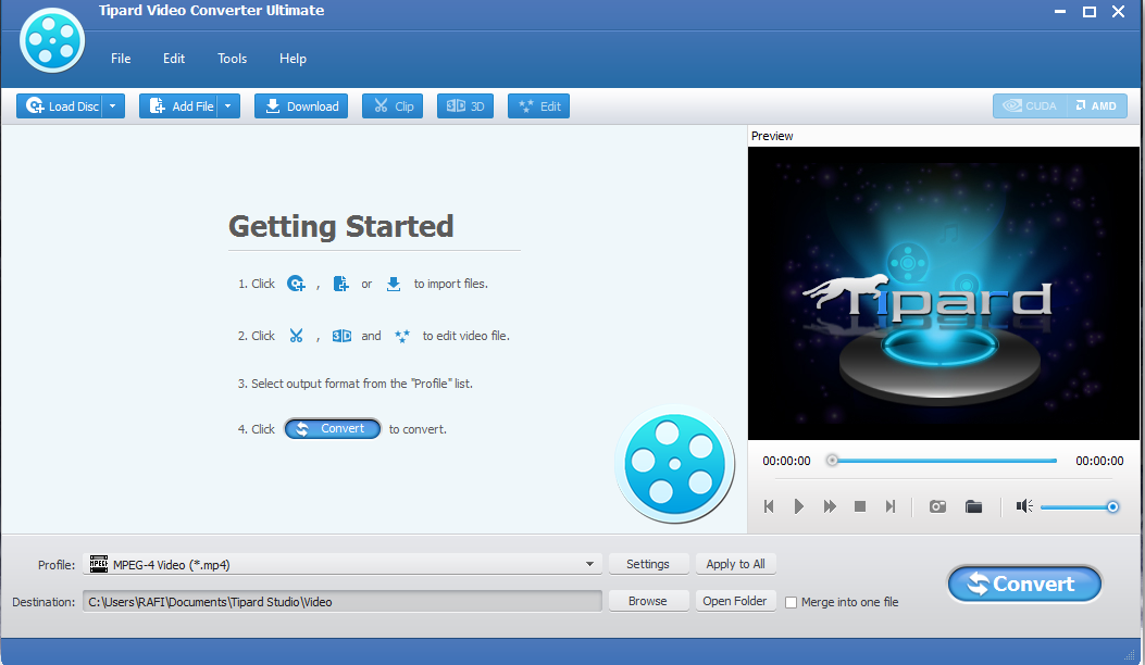 Tipard Video Converter Ultimate 8.1.12 with Crack