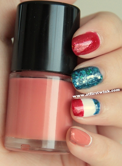Queens day nail art