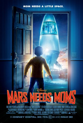 Poster of Mars Needs Moms 2011 720p BRRip Dual Audio