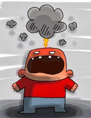 El problema y consecuencia del enfado
