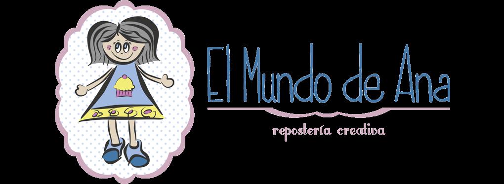 EL MUNDO DE ANA: Cupcakes, Galletas, Tartas Fondant en Teruel