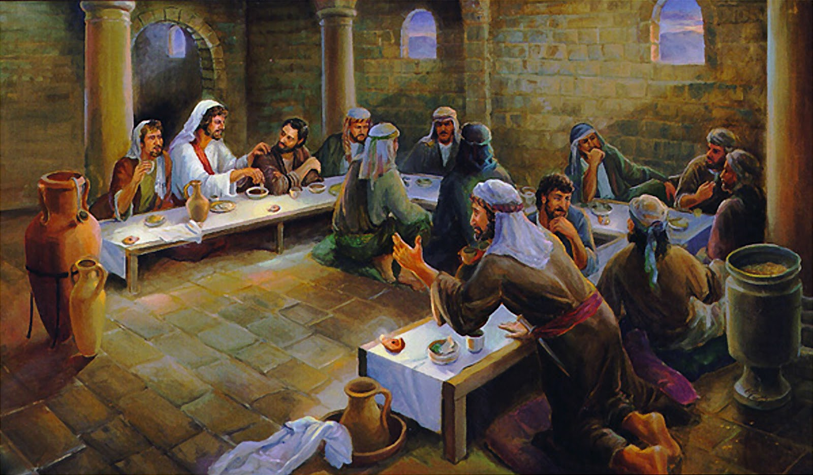 Redeemer of israel the last supper and the passover feast