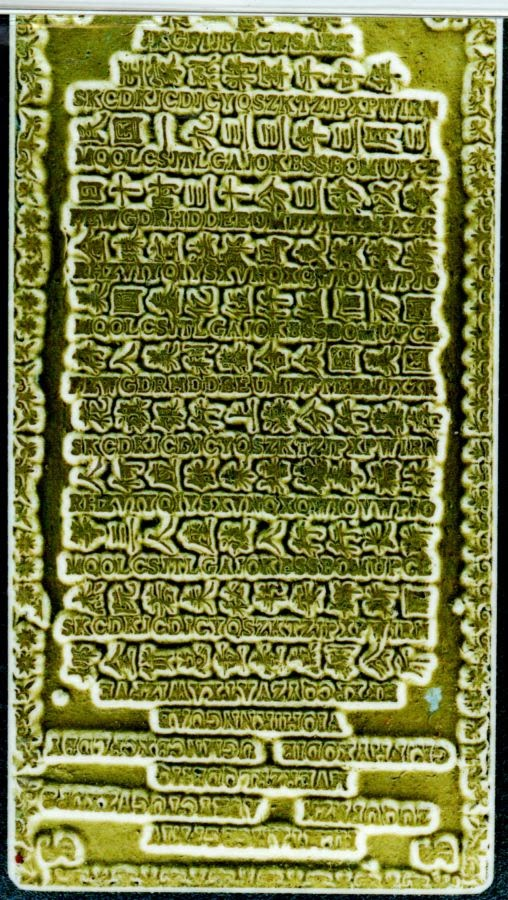 Secret Codes on Chinese Gold Bar.