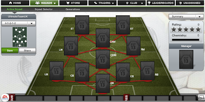 FUT 13 Formations - 4-1-2-1-2 - FIFA 13 Ultimate Team