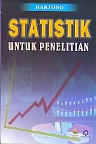 toko buku rahma: buku STATISTIK UNTUK PENELITIAN, pengarang hartono, penerbit pustaka pelajar