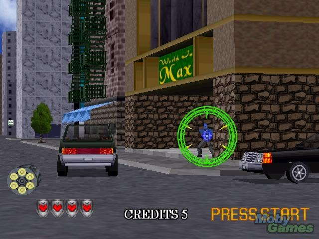 Screen Shoot Game Virtual Cop