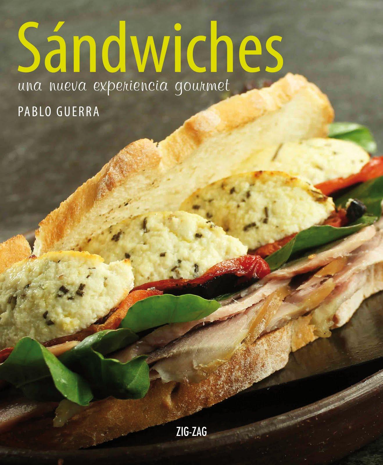 Sandwiches frios y Calientes – 50 deliciosas recetas
