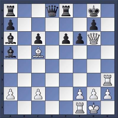 Les Blancs jouent et matent en 5 coups - Niveau Facile
